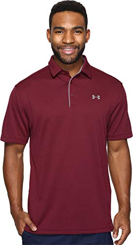Under Armour Men's Tech Polo, Maroon (609)/Graphite, X-Large from Under Armour