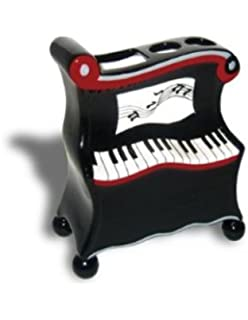 PIANO Bathroom TOOTHBRUSH Holder Musician Gift Kid NEW