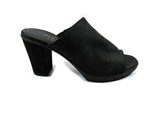 The Flexx - Sandalias de vestir de Piel para mujer negro