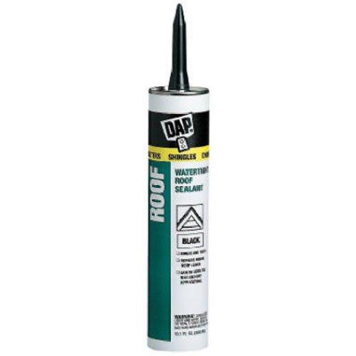Dap 18268 Black Tite Roof Sealant 10.1-Ounce, 10.1 oz, product image