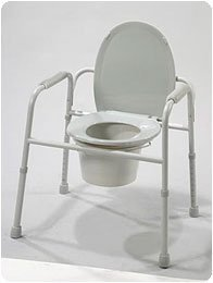 Deluxe All In One Commode - 3