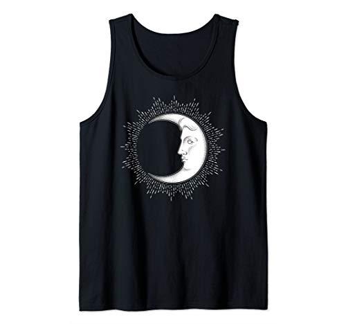 - Bohemian Man on the Moon Vintage Luna Tank Top
