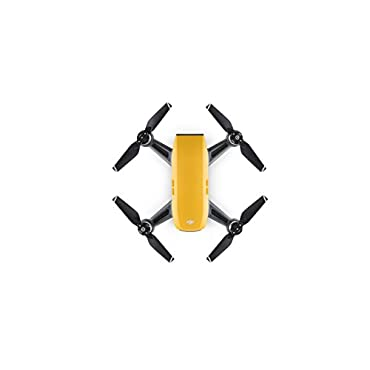 DJI Spark Mini Drone, Sunrise Yellow