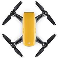 DJI CP.PT.000732 Spark Palm launch, Intelligent Portable Mini Drone, Sunrise Yellow