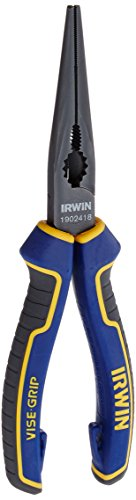 IRWIN Tools VISE-GRIP Max-Leverage Pliers, Long Nose, 8-inch (1902418)