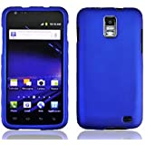 For Samsung Galaxy S II Skyrocket S2 i727 Accessory - Blue Hard Case Protector Cover + Free Lf Stylus Pen