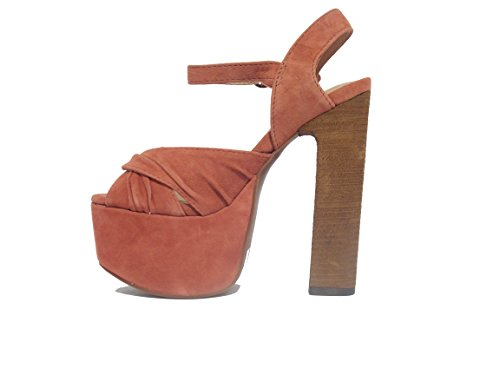 Sandalo Jeffrey Campbell Donnas Suede Pink 2 - Size:39
