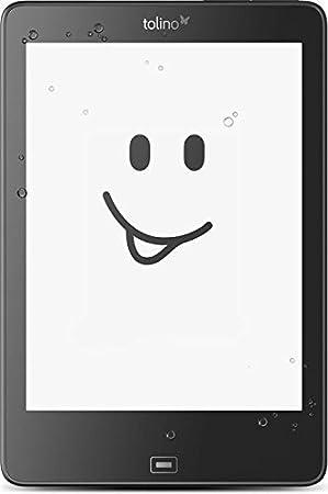 Tolino Epos lectore de e-Book Pantalla táctil 8 GB WiFi Negro: Amazon.es: Electrónica