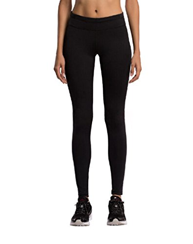 FWN Women Power Flex Yoga Pants Workout Running Ankle Leggings Inner Pocket Non See-through Fabric (XXXL)