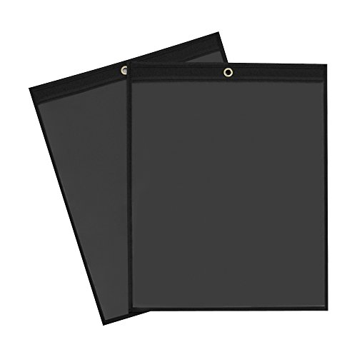 11 Ticket Holders (Top Pack Supply Solid Black Job Ticket Holders, 11