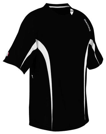 - Diadora Ermano Soccer Jersey 993418 320-BLACK YL