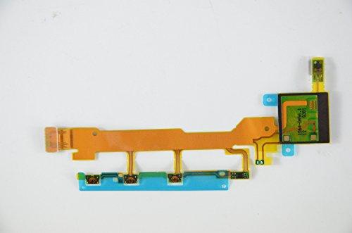 Eathtek Replacement Microphone Mic Volume Button Power Flex Cable for Sony Xperia Z L36 L36h LT36 LT36i LT36H C6602 C6603