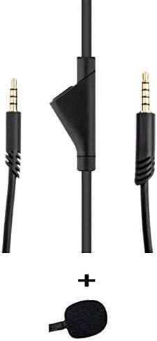 Astro 2.0M A10 Volume Control Cable Cord Original Astro Cable, No Mute Function Plus ienza Mic Foam Accessory Bundle