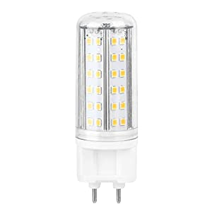 G12 LED Corn Bulb Lamp Hight Bright Lamp Home, Two Color Temperature Adjustable Lamps, With 85 LED Beads, 10W AC85-265V…
