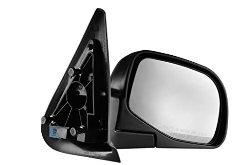 (Passenger Side Textured Non-Heated, Manual Operated, Side View Mirror for 1998-2001 Mazda B2500 B3000 B4000, 2001-2003 Mazda B2300, 1998-2005 Ford Ranger)