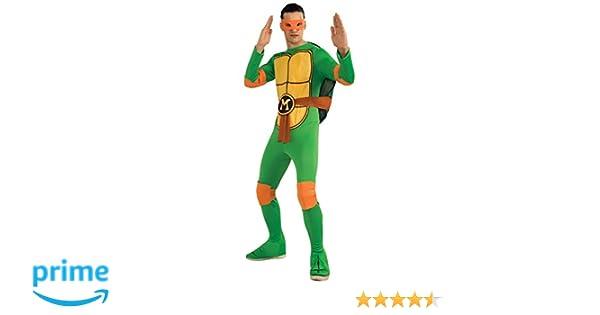 AEC – CS987251 – Disfraz de Michelangelo de Las Tortugas Ninja – TMNT – Talla única