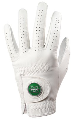 Marshall Thundering Herd Golf Glove & Ball Marker – Left Hand – Medium / Large   B00BFKUZNQ