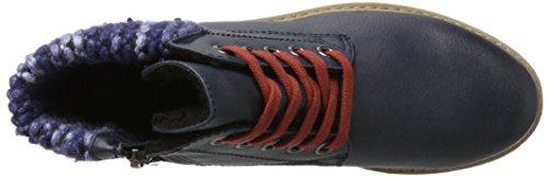 Marco Tozzi Damen 26281 Klassische Stiefel Blau (Navy Antic Com)