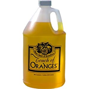 Wood Cleaner and Restorer for Hardwood Floor, Wood Furniture and Wood Cabinet Cleaner with Orange Oil (Gallon)