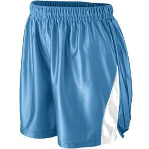 Augusta 941A Ladies Dazzle Elite Short, Light Pink & White - Large