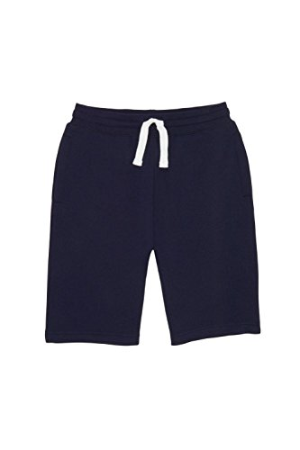Boys Gym Short - French Toast Boys' Little Fleece Gym Short, Navy, 6