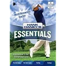 "Hank Haney's Essentials - 4 Disk Tutorial GOLF DVD set - Includes Bonus ""Strategy"" DVD (3-1/2 Hour Golf Tutorial DVD)"