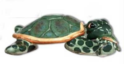 FOREVER FRIENDS TURTLES - Clayworks (2009 Turtle)