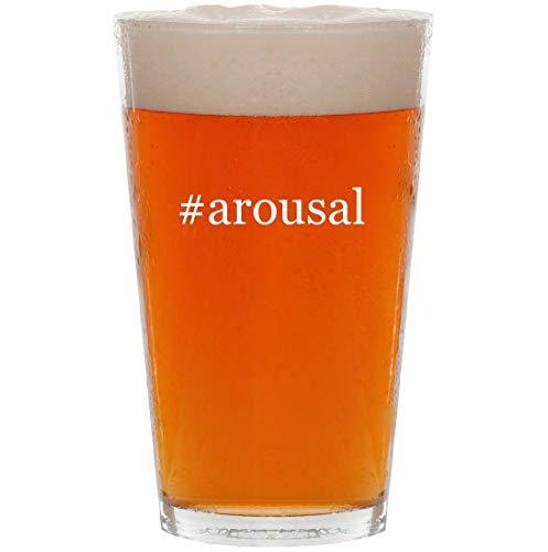#arousal - 16oz Hashtag All Purpose Pint Beer Glass