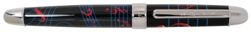ACME Studios Standard Rollerball Pen Jazz Rock, BlackRed/Blue (PLW01R)