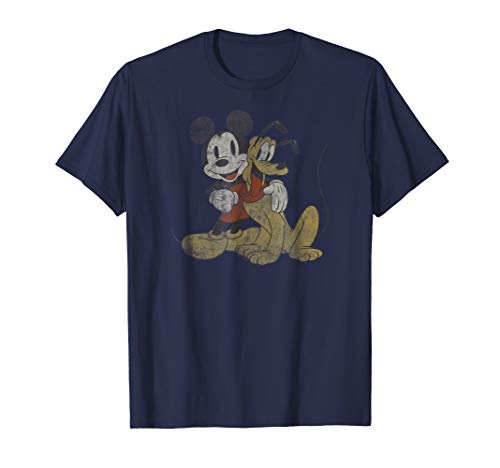 Disney Mickey Mouse and Pluto Best Buds T-Shirt