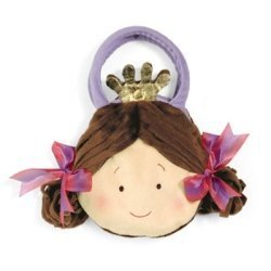 Fancy Princess Tote Bag in Purple by nabear