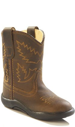 (Old West Kids Boots Kids' Tubbies (Toddler), Apache 7 M)