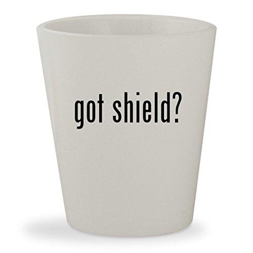got shield? - White Ceramic 1.5oz Shot - Brooke Shields Sunglasses