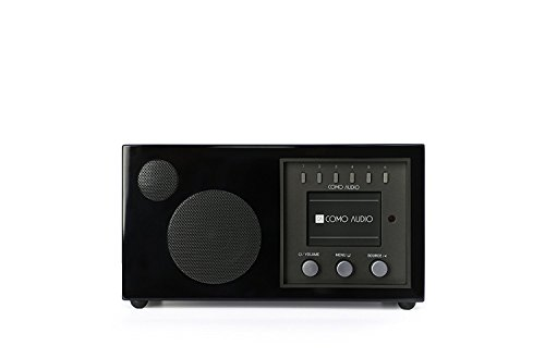 Como Audio: Solo – Wireless Music System with Internet Radio, Spotify Connect, Wi-Fi, FM, and Bluetooth (Piano Black)