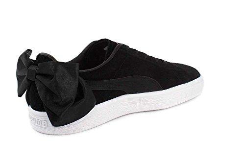 Puma Kvinders Ruskind Bue Wn Sneaker Puma Sort-puma Sort vfnivwO1Y