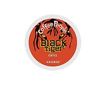 Coffee People Black Tiger Bold Coffee K-Cup (96 Count) by Coffee People