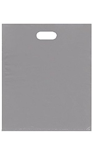 Large Low Density Gray Merchandise Bags - Case of 500 by STORE001