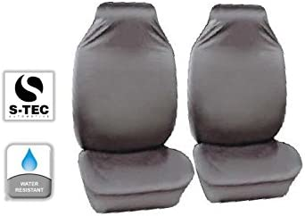 Heavy Duty Water Resistant Front Seat Covers//Protectors 1+1 S Grey tech automotive Citroen Grand C4 Picasso