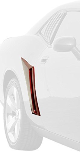 XENON 12940 Right and Left Rear Quarter Window Side Scoop Kit (Dodge Challenger Wide Body Kit For Sale)