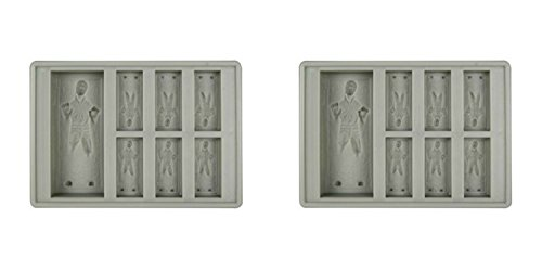 Star Wars Han Solo in Carbonite Silicone Ice Trays /