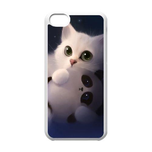 Sweet Nightmare L coque iPhone 5c cellulaire cas coque de téléphone cas blanche couverture de téléphone portable EEECBCAAN07910