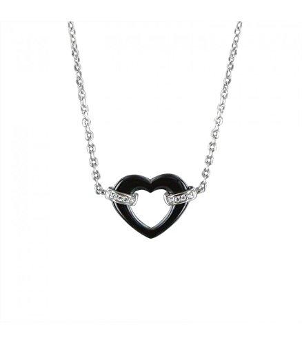 Pendentif coeur Céramique et argent Ceranity 1-78/0010-N