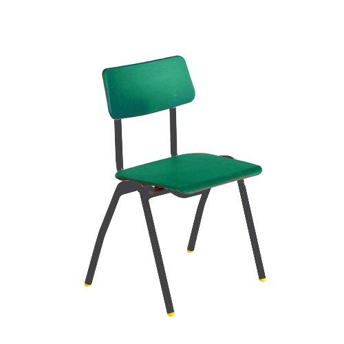 Metalliform bse-mc-green standard Classroom sedia con sedile 430mm, verde