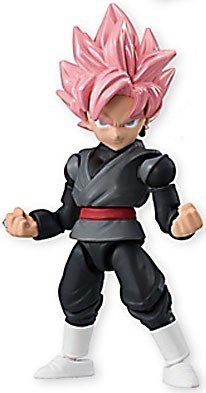 Dragon Ball Super 66 Action Dash Super Saiyan Goku Black Rose Character Mini Action Toy Figure Statue approx. 66mm / 2.6