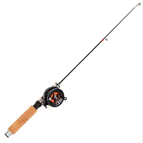 LEO Spinning Caña de pescar y carrete Combos telescópicas portátil bobinas de hilado de pesca de agua salada para viajes...