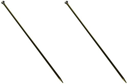 Boye 6328-8 8/5mm Single Point Aluminum Knitting Needles, 14
