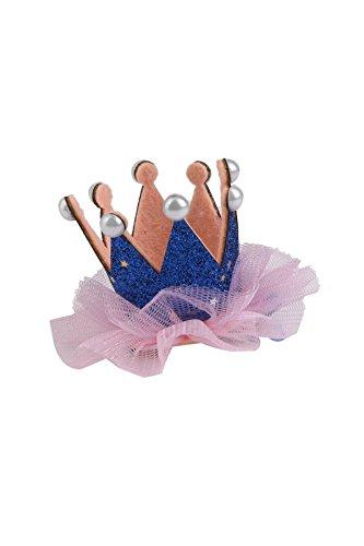 YOIL Corona encaje niña lindo horquilla cumpleaños fiesta ...