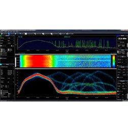 Aaronia EMC / EMI Spectrum Analyzers RSA - EMF Software Web interface