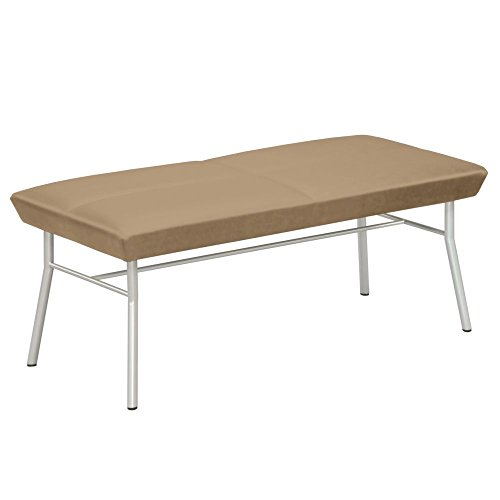 Uptown Two-Seat Bench in Vinyl Dimensions: 45