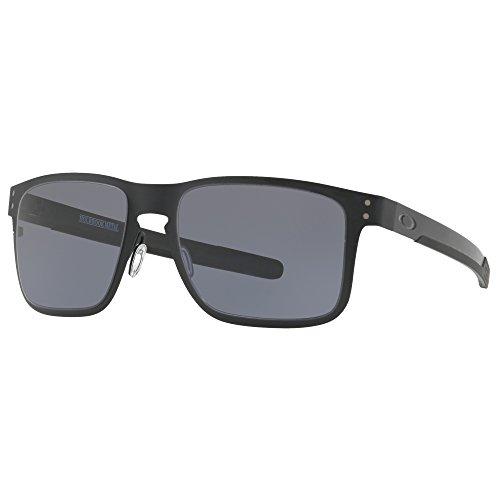Para Hombre Oakley Negro Sol De 55 Holbrook Metal Gafas SqYXU